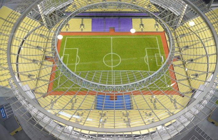 Макет стадиона Екатеринбург-Арена