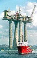 Платформа Troll A в Северном море