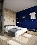 Интерьер под фанеру: оригинальные варианты оформления квартиры фанерой