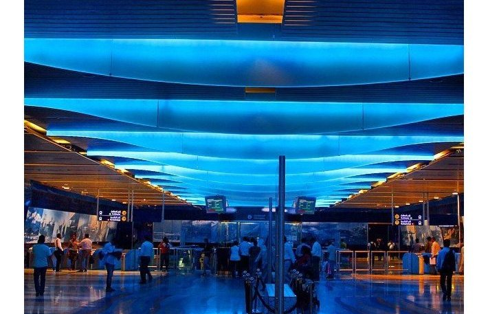 Станция метро Burjuman, Дубай