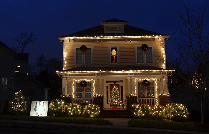 Один из домов в Макандевиле, Северная Каролина (США)
