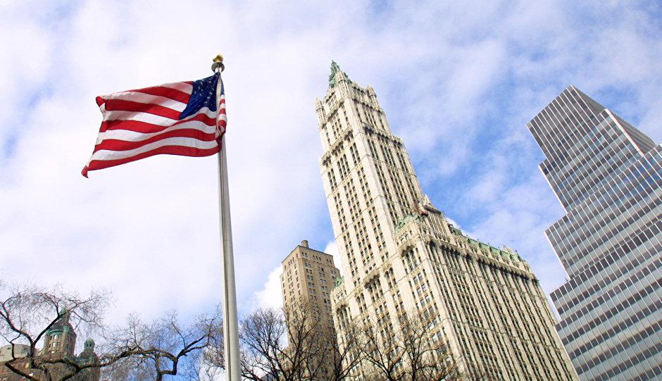 Вулворт-билдинг в Нью-Йорке