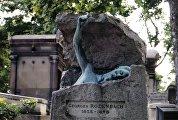 Могила бельгийского писателя Жоржа Роденбаха
