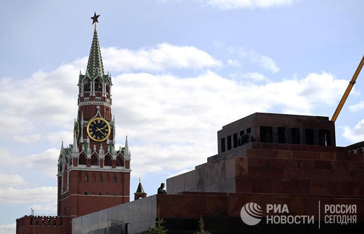 Виды Москвы. Красная площадь