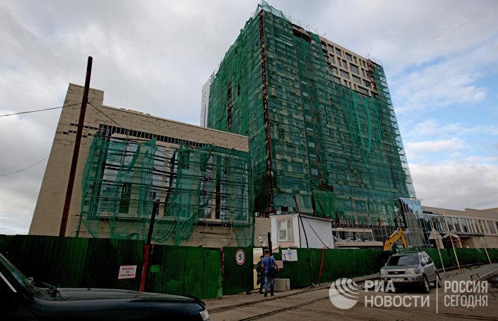 Строительство пятизведочной гостиницы Hyatt Regency City