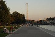 Недостроенная башня в Екатеринбурге