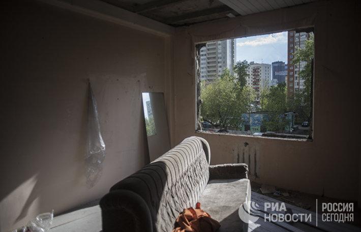 Выселенные пятиэтажные дома в Москве