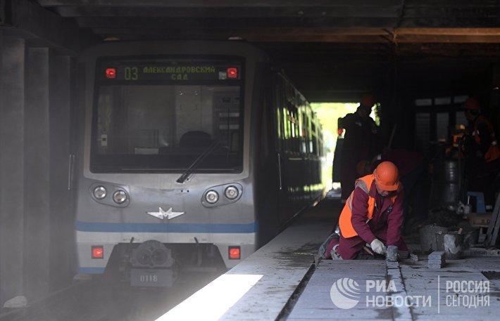 Первый этап реконструкции Филевской линии метро