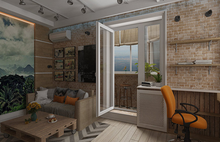 Уголок релакса: как организовать место для чаепития на балконе