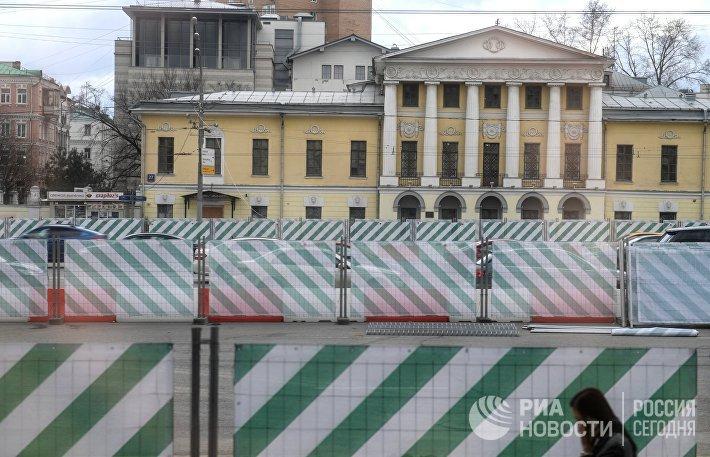 Благоустройство улиц и бульваров в Москве