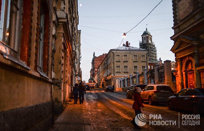 Города России. Выборг