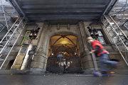 Место убийства Джона Леннона (Нью-Йорк, США)