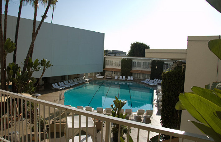 Отель Бэвэрли Хилтон, Лос-Анджелес